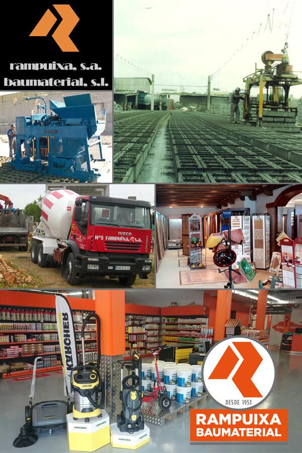 Imágenes históricas de Rampuixa-Baumaterial